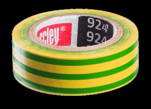 Isolatie Tape GEEL/GROEN 19x10m