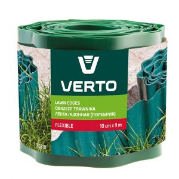 Graswand 10cm x 9m Groen