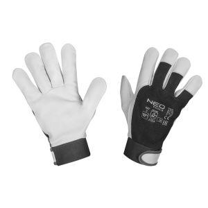 Werkhandschoen Geitleer M10